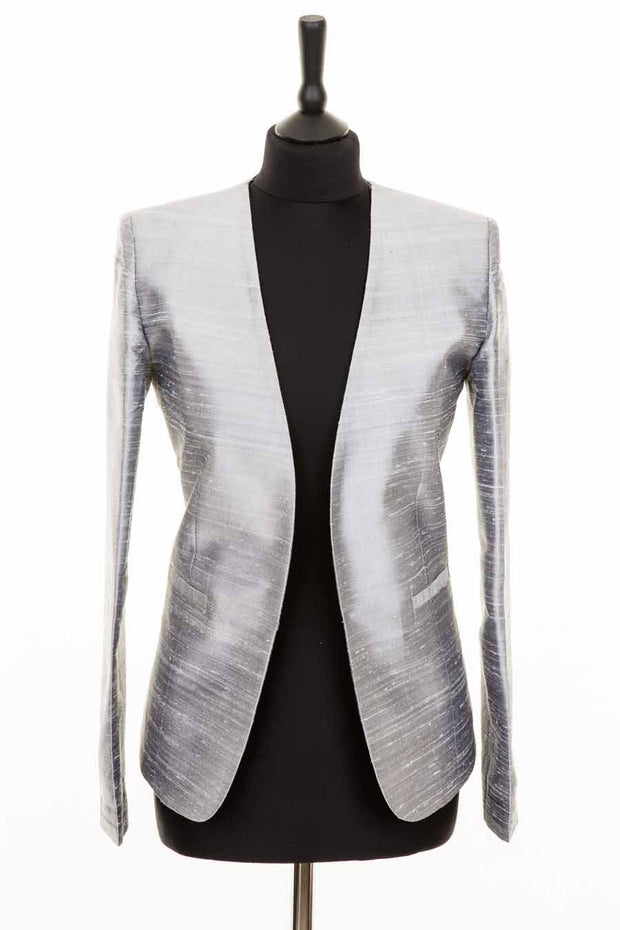 Bella Jacket in Silver