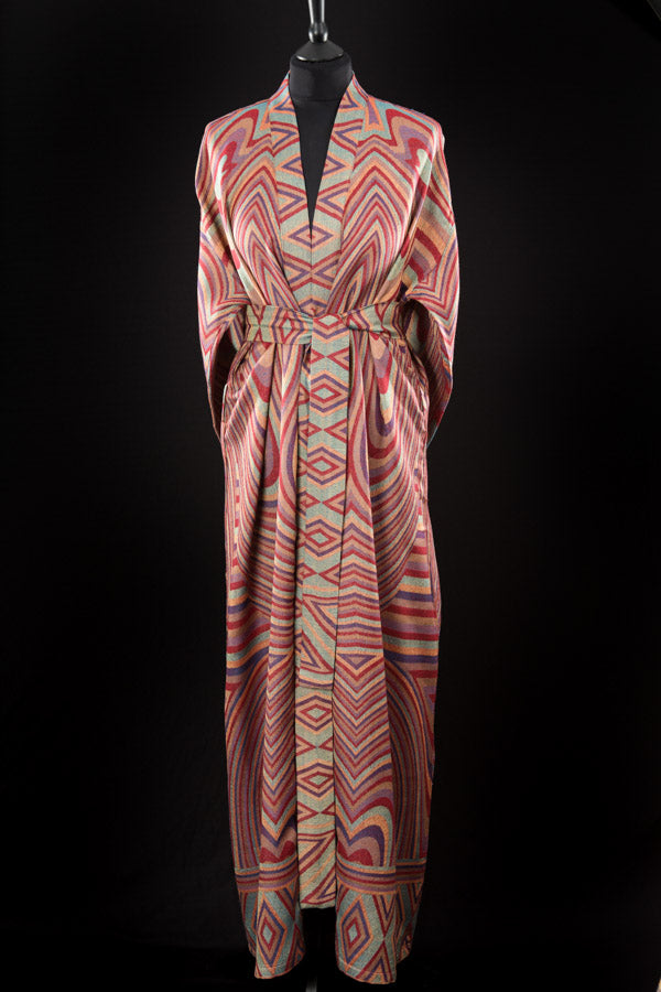 Reversible Dressing Gown in Muse