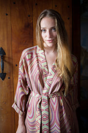 Reversible Dressing Gown in Vogue