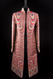 Nehru Coat in Muse