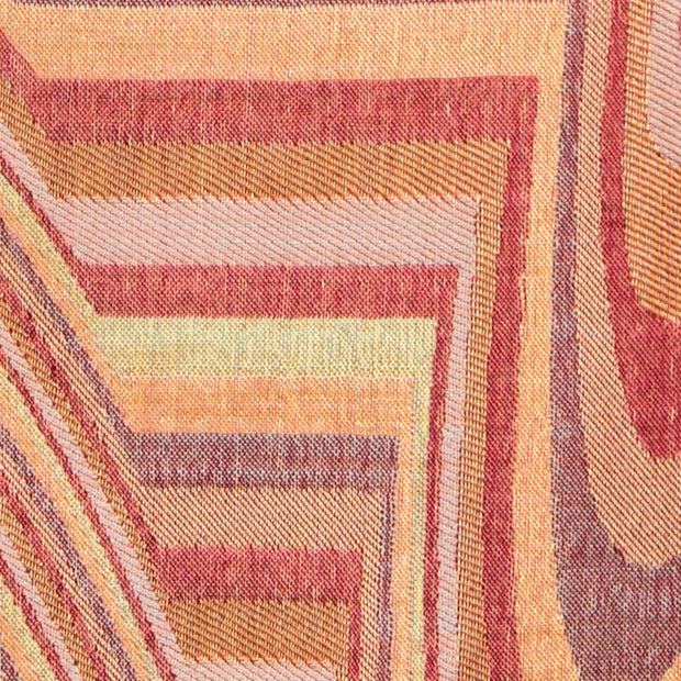 pink blush striped cashmere fabric