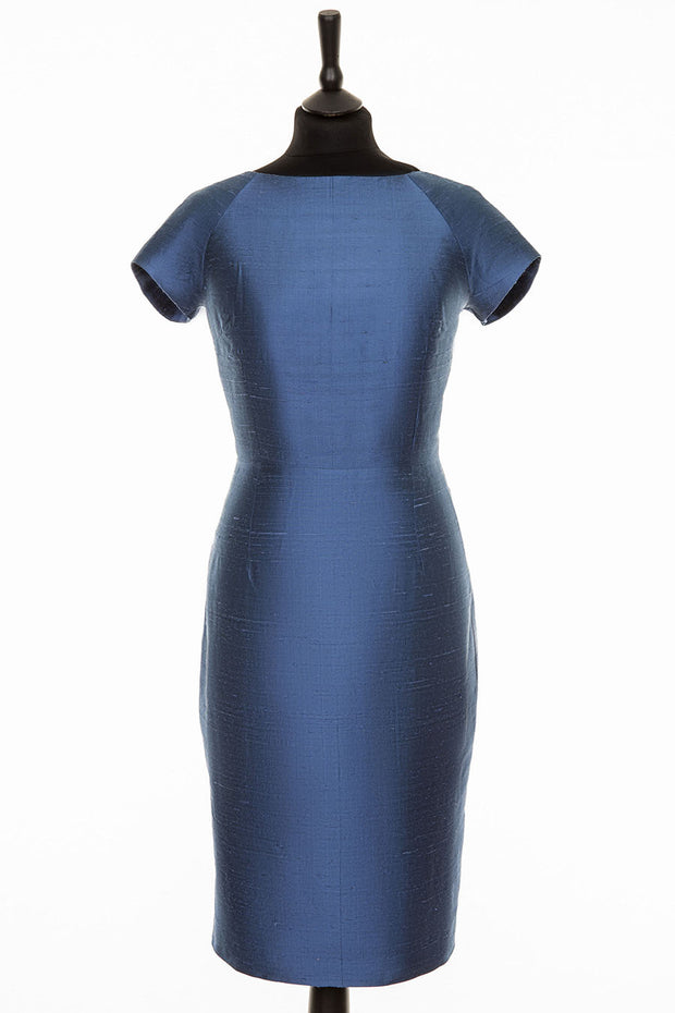 Hepburn Dress in French Blue