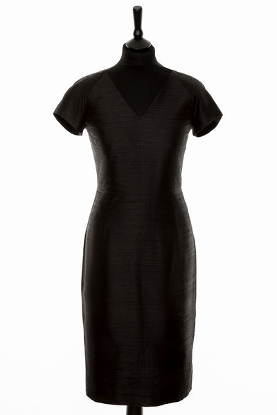 Marilyn Dress in Liquorice