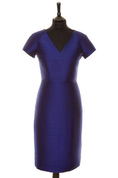 Marilyn Dress in Midnight Blue