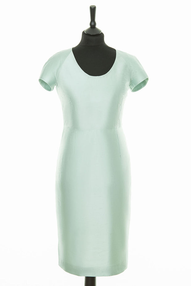 Vera Dress in Mint Ice