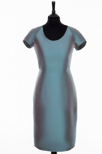 Vera Dress in Smokey Blue