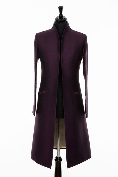 Lyra Coat in Aubergine