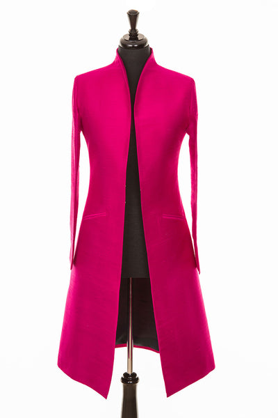 Lyra Coat in Hot Pink