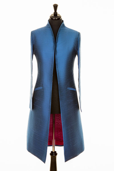 Lyra Coat in French Blue