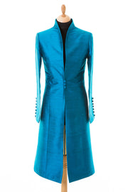Avani Coat in Kingfisher Blue - Sale