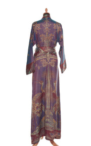 Dress Style Kimono in Imperial Blue