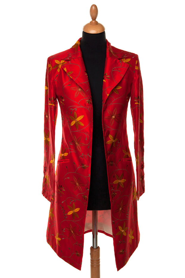 Grace Coat in Hot Chilli