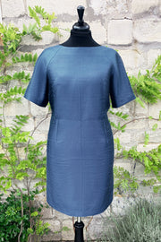 Hepburn Dress in French Blue 20