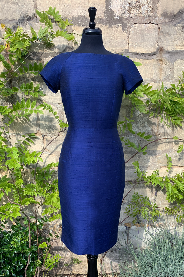 Hepburn Dress in Midnight Blue 10-12