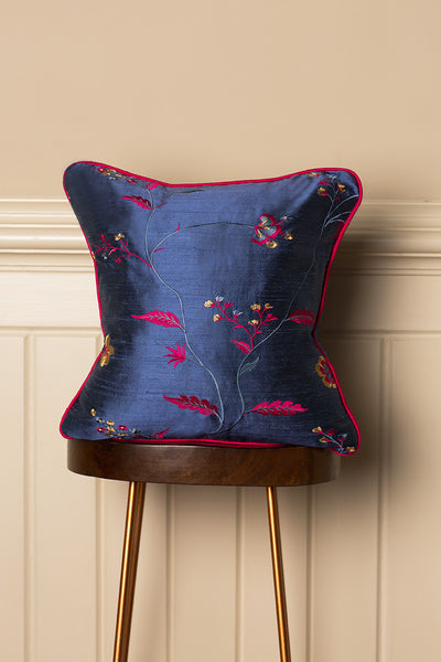 Medium Silk Cushion in Vivid