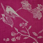 Fabric for Bhumi Jacket in Deep Raspberry