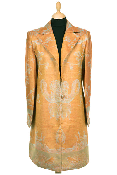 Grace Coat in Apricot Moon