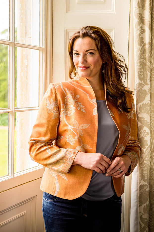 Anya Jacket in Apricot Moon