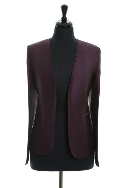 Bella Jacket in Aubergine