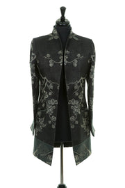 Bhumi Jacket in Ebony