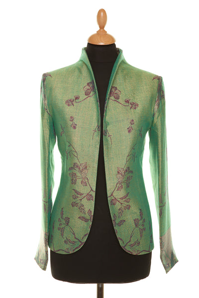 Anya Jacket in Dragonfly Green