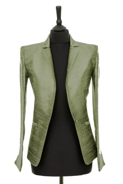 Nina Blazer in Moss Pewter