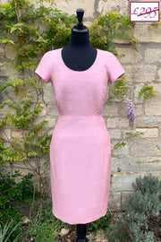 Vera Dress in Pink Sugar 8-10