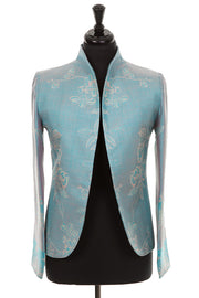 Anya Jacket in Pale Cyan