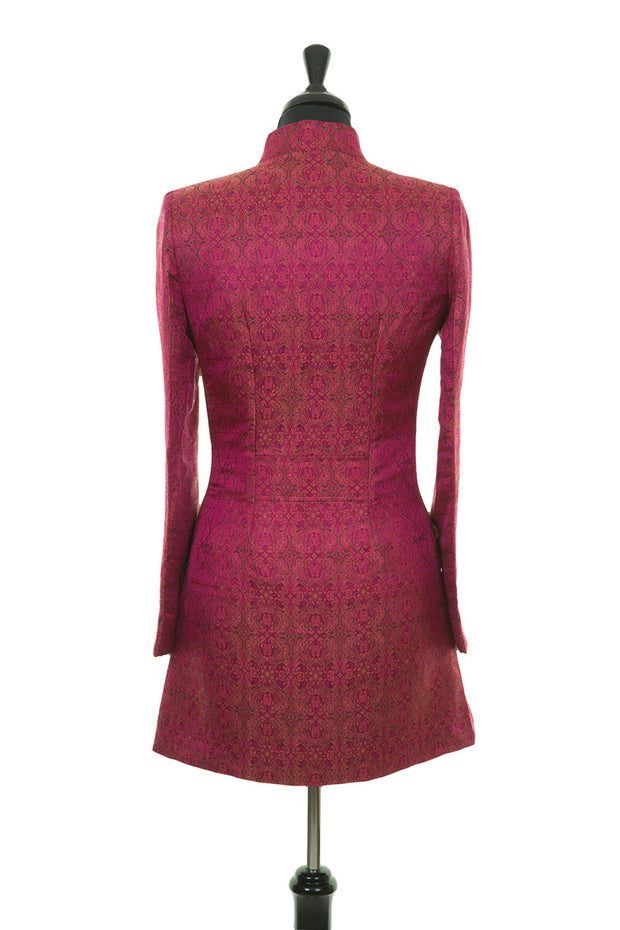 Bhumi Jacket in Pink Jacquard