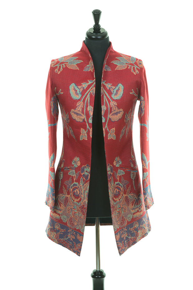 Bhumi Jacket in Venetian Red