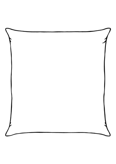 Custom Large Silk Cushion