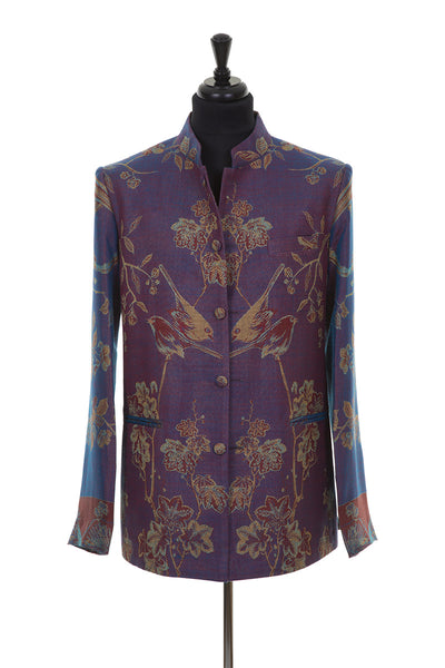 Mens Nehru Jacket in Imperial Blue