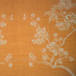 Fabric for Reversible Kimono Jacket in Apricot Moon