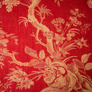 Fabric for Aquila Coat in Imperial Red
