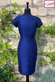 Hepburn Dress in Midnight Blue 12