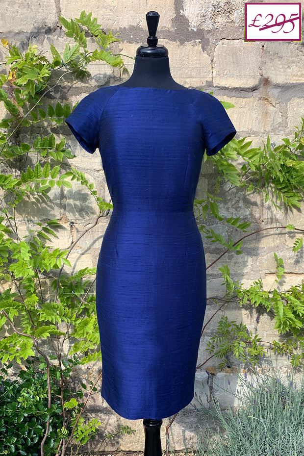 Hepburn Dress in Midnight Blue 8-10