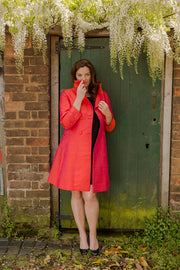Delphine Coat in Flame - Sale