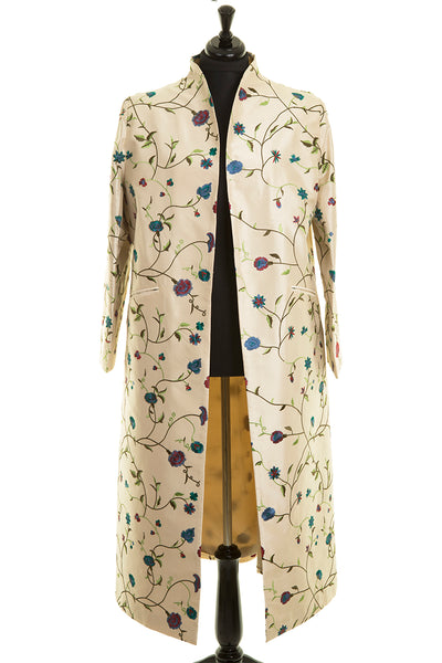 Devi Coat in Porcelain - Sale