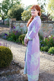 Reversible Dressing Gown in Lilac