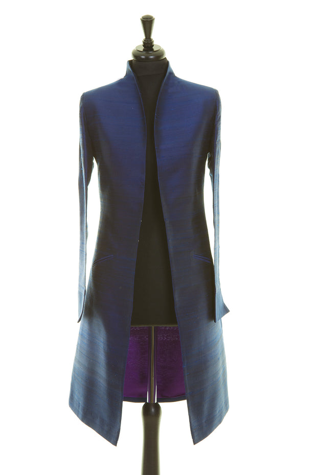 Lyra Coat in Midnight Blue