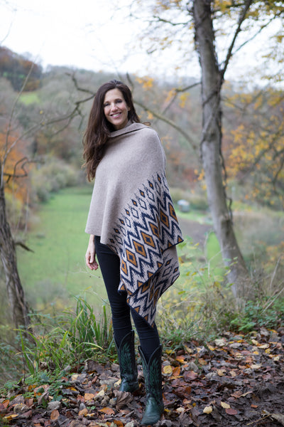 Alpaca Shawl in Highland