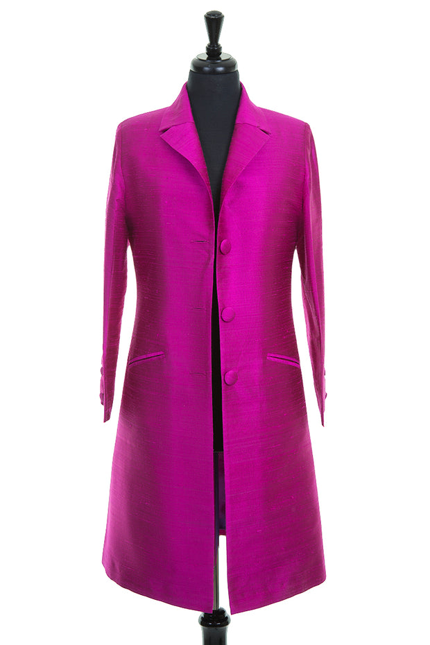 Grace Coat in Wild Orchid - Sale