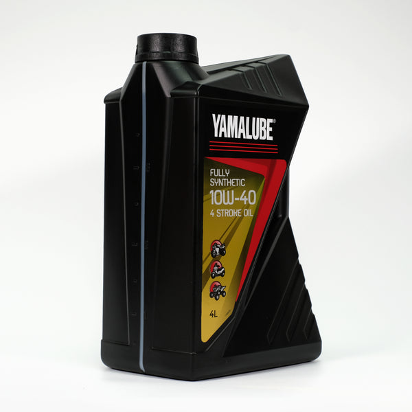 Yamalube 10W-40 4 Stroke Fully Synthetic Oil - 4 Litres-Alf England