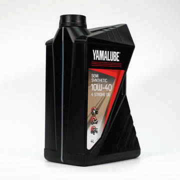Yamalube 10W-40 4 Stroke Semi-Synthetic Oil - 4 Litres