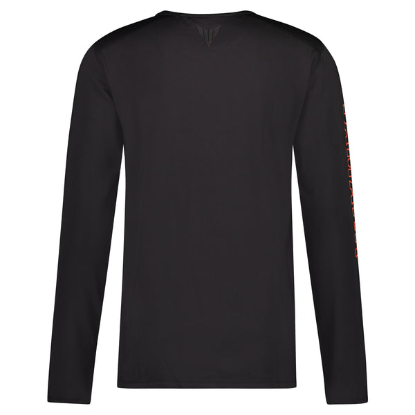 MT Men's Boise Black Long Sleeve T-Shirt-Alf England