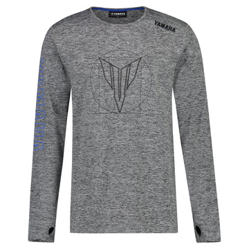 MT Men's Boise Grey Long Sleeve T-Shirt