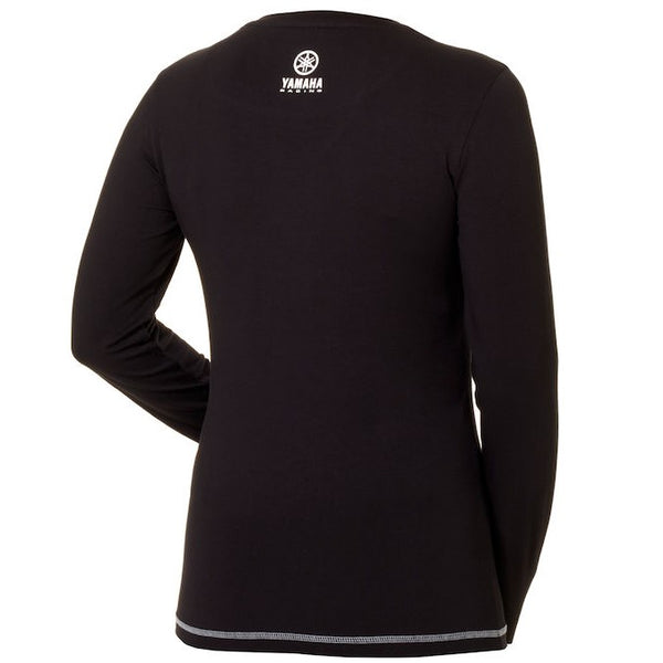 Paddock Blue Women's Long Sleeve T-Shirt Black-Alf England