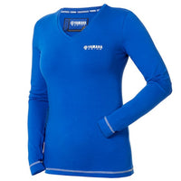 Paddock Blue Women's Long Sleeve T-Shirt Blue-Alf England