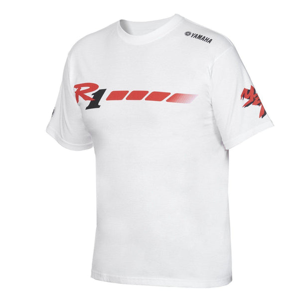 YZF-R1's 20th Anniversary Men's White T-shirt-Alf England