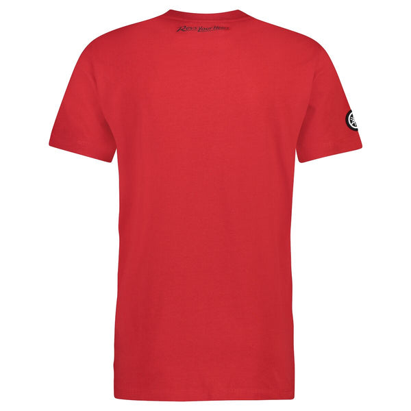 REVS Men's T-Shirt Red (S)-Alf England